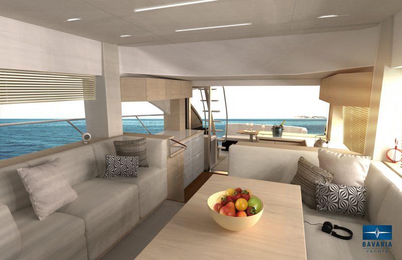 Яхта Бавария р55